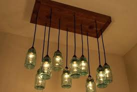 Mason Jar Light Kit Fixture For Sale Kitchen Lights Diy