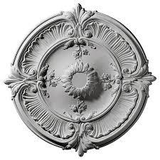 Lowes Canada Ceiling Medallion 30 1 8 inch od x 1 1 2 inch p attica acanthus leaf ceiling