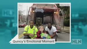 100 Garbage Trucks Videos For Kids Little Boy Meets His Heroes Has Adorable Meltdown CNN Video