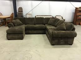 Chocolate Corduroy Sectional Sofa by Sunnyvale Chocolate Corduroy Sectional Sofa Set By Urban Cali
