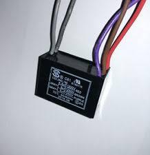 Cbb61 Ceiling Fan Capacitor 2 Wire by Cbb61 9uf 250v Ac 2 Wire Ceiling Fan Capacitor Ebay