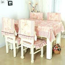 Dining Table Chair Covers Exceptional Cover Great In Round