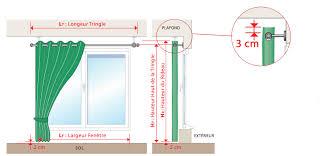 rideaux de sur mesure comment mesurer votre rideau avec oeillets