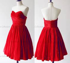 red velvet strapless short prom dresses bridesmaid dress