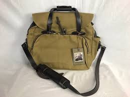 Text Decoration Underline Padding by New Filson Padded Computer Bag Tan Twill Leather Briefcase 15