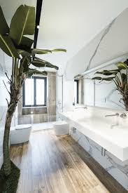 100 In Marble Walls A Tree Facing A White Sink An Area With And Wooden
