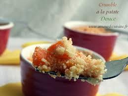 patate douce cuisine crumble a la patate douce et carotte amour de cuisine