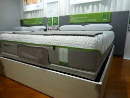 At Tempur Pedic new Tempur Flex beds have some bounce back with