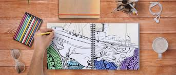 THE LARGEST STREET ART DISTRICT IN WORLD A COLORING BOOK