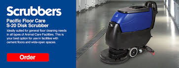 pacific floor care scrubbers animal care facility automated