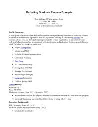 Remarkable Sample Resume Financial Management Student For Your Application Letter Examples Of Resumes Fresh Graduate Perfect