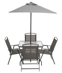 Walmart Patio Tables Only by Walmart Canada Deal Cranston 6 Piece Sling Folding Patio Set In