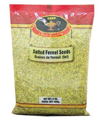Deep Spices Fennel Seeds Salted 14oz
