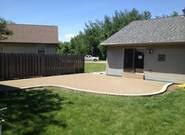 concrete patio appleton wi spencer concrete 1 sted concrete patio slab driveway