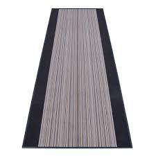 teppichläufer läufer carnaby streifen grau 80cm breite