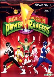 Mighty Morphin Power Rangers DVD Season 1