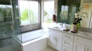 Renovation Ideas, Tips & Pictures   HGTV Modern Bathroom Design Ideas Pictures Tips From Hgtv Basement Small Decorating Clawfoot Tub Designs Bathrooms Hgtv Bathrooms Remodel Space Midcentury Intended Acrylic Bathtub Options By A Beautiful Koonlo Narrow Layouts Simple Home Plans For Shopping With Shower Winsome Black Iron Faucet Along Interior Polished Brown Marble 24 Awesome Remodels Makeovers