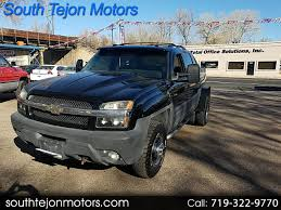 Used 2005 Chevrolet Avalanche For Sale In Colorado Springs, CO 80903 ...