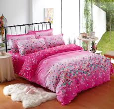 Cute Queen Pink Bedding forters with Cheap Girl Bedroom