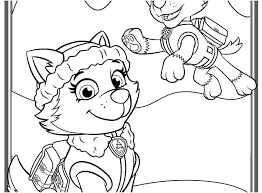 Paw Patrol Vehicles Coloring Pages Best Of Free Printable Page For Gallery