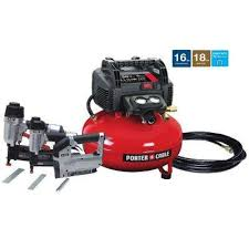 Bostitch Floor Nailer Home Depot by Porter Cable 6 Gal 150 Psi Portable Electric Air Compressor 16