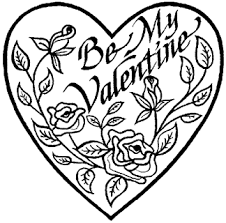 Printable Valentines Coloring Pages Day Ideas