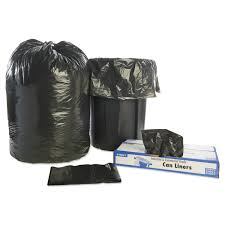 Christmas Tree Trash Bags Walmart by Stout By Envision 100 Recycled Plastic Garbage Bags 65gal 1 5