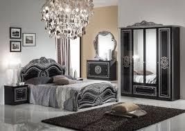 barockschlafzimmer lusinda in schwarz silber luxury