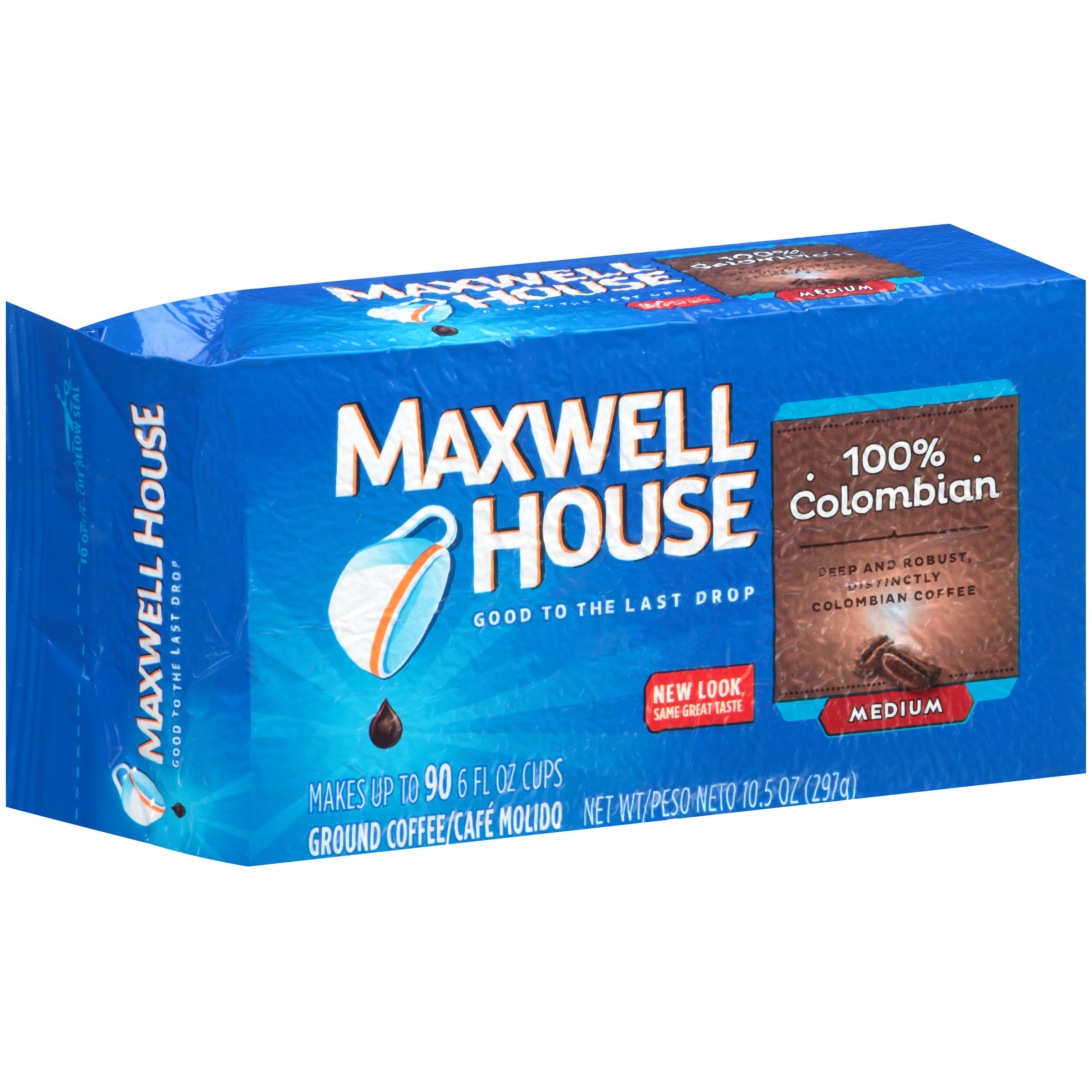 Maxwell House 100% Colombian Medium Ground Coffee - 10.5oz