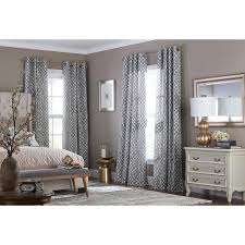 Eclipse Thermalayer Curtains Grommet by Shop Curtains U0026 Drapes At Lowes Com