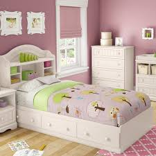 South Shore Savannah Twin Mate s & Captain s Bed with 3 Drawers