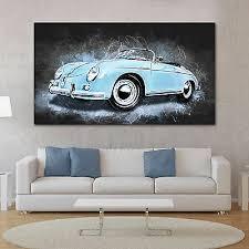 posters prints leinwand bild porsche speedster auto