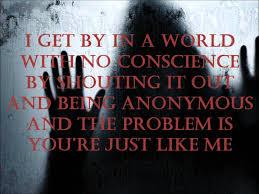 Three Days Grace Anonymous Lyrics