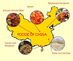 different types of cuisines in the food for