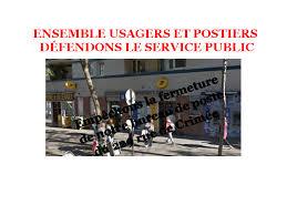 bureau de poste charenton défense du bureau de poste du 218 rue de crimée 19e ul cgt