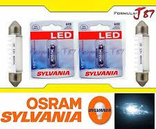 sylvania premium led light bulb 578 blue 10000k license dome