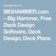 the 25 best free deck design software ideas on pinterest deck
