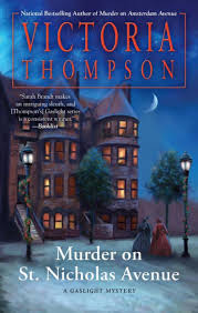 Murder On St Nicholas Avenue Gaslight Mystery Series 18