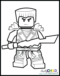 Ninjago Coloring Pages Golden Ninja Lego Movie Sheets For To Print Free