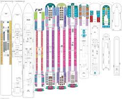 Celebrity Equinox Deck Plan 6 by Pride Of America Deck 8 Deck Plan Tour