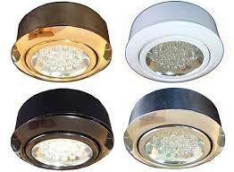 12 volt led puck lights kits display cabinet cove
