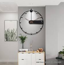 moderne wohnzimmer esszimmer wanduhr handgemacht