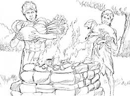 Cain And Abel Coloring Pages Page 1 With Regard To The Incredible As Well Lovely