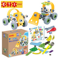 100 Create A Truck ETI Toys Play And Learn Lil Engineers 56 Piece Build Play