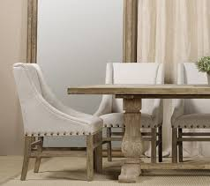 stunning upholstered dining chairs with nailheads on small home