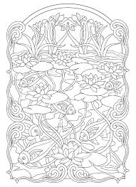 Free Christmas Coloring Pages For Adults Printable Hard To Color Wreaths