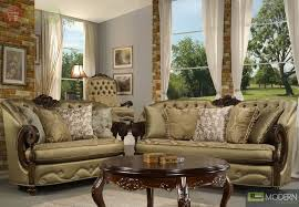 FurnitureEye Catching Traditional Living Room Furniture Design With Bronze Finish