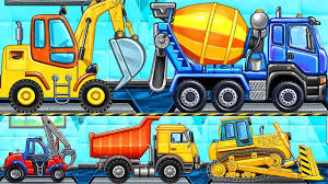 100 Construction Trucks Names Vehicles Learning And Sounds Car Wash