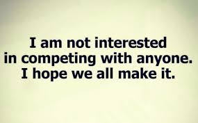 Positive Attitude On Twitter I Am Not Interested In Competing With Anyone Hope We All Make It Tco BjpXLe3idb