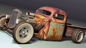 RAT RODS(THE TRUCKS)- 50 Different Looks For Your Rod. - YouTube